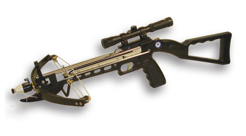 NcSTAR CROSSBOW WITH SCOPE. Compact light weight design-fun for all ages!